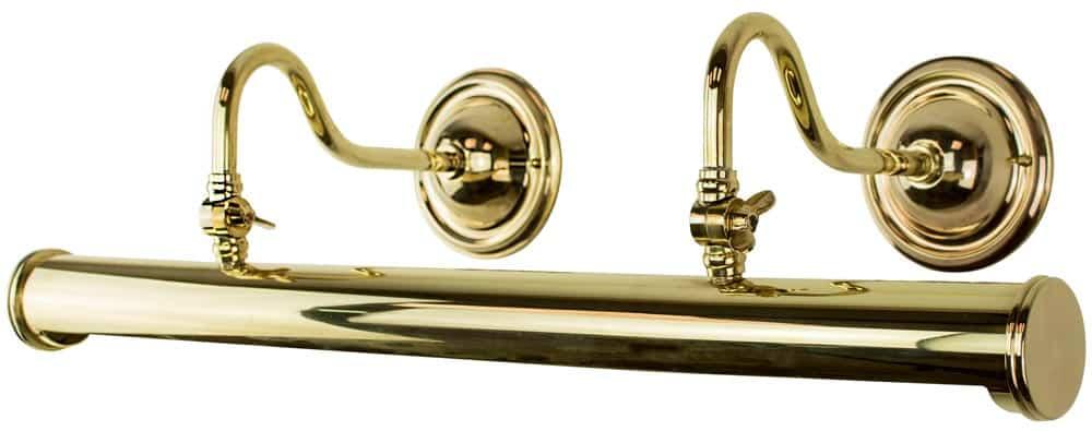 Blenheim Handmade Solid Brass 640mm Tube Picture Light Bl25