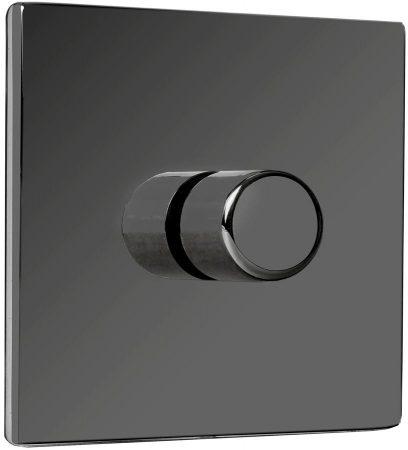Fantasia Black Nickel Rotary Fan Speed Controller Switch