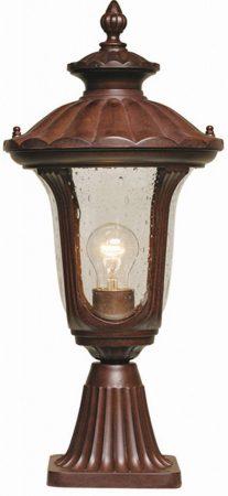 Elstead Chicago Small Rusty Bronze Post Top Lantern