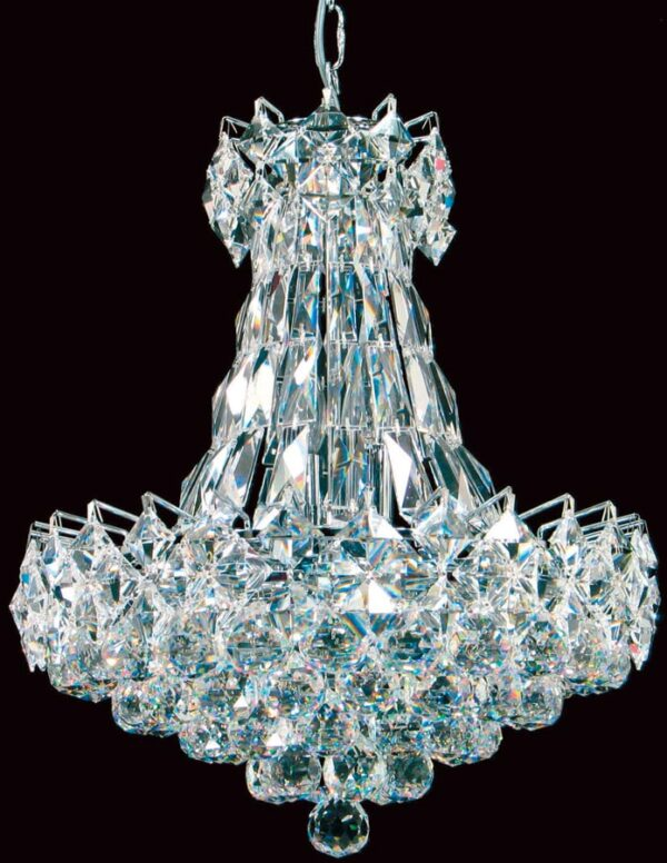 Le Havre Shower 6 Light Contemporary Strass Crystal Chandelier