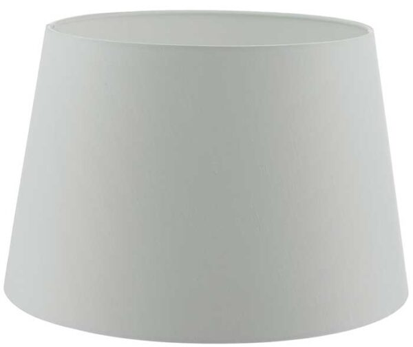 Cezanne 35cm White French Drum Ceiling Or Table Lamp Shade