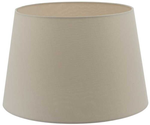 Cezanne 35cm Ecru French Drum Ceiling Or Table Lamp Shade