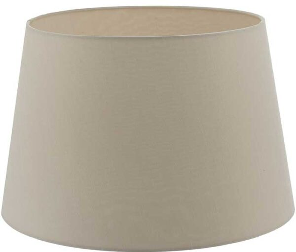 Cezanne 40cm Ecru French Drum Ceiling Or Table Lamp Shade