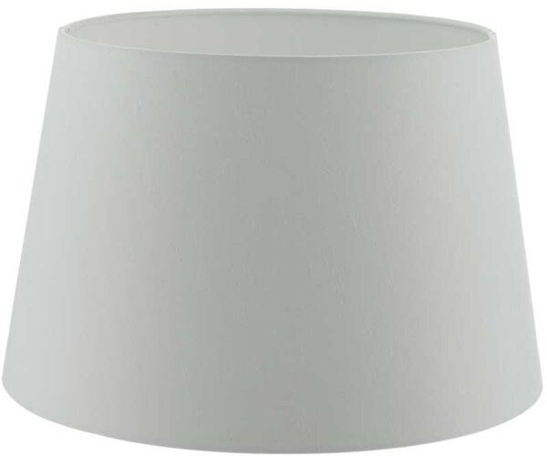 Cezanne 45cm White French Drum Ceiling Or Floor Lamp Shade