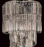 Toronto Chrome 14 Light Clear Crystal Spiral Chandelier
