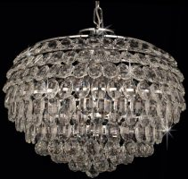 Crystal ceiling lights stunning crystal lighting for ceilings adaliz large 6 light k9 crystal pendant in polished chrome mozeypictures Choice Image