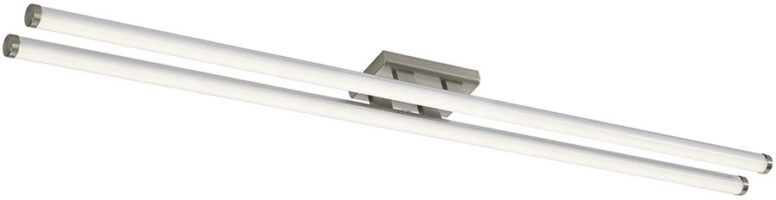 Dar Cuisine Fluorescent Style 40w LED Kitchen Light Satin Chrome