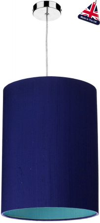 David Hunt Cylinder Silk 30cm Two Tone Shade Various Colours
