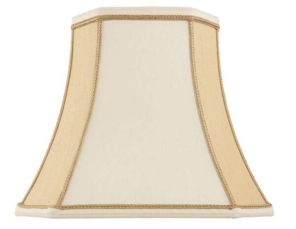 Camilla Beige Faux Silk 5.5 inch Clip On Lamp Shade
