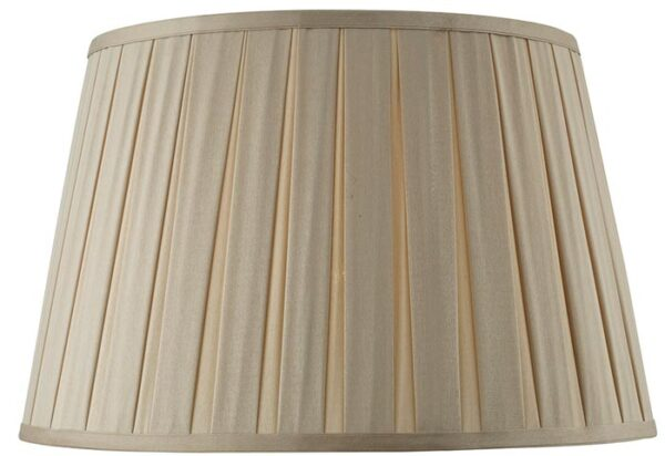 Degas Taupe 40cm Pleated Empire Table Lamp Shade