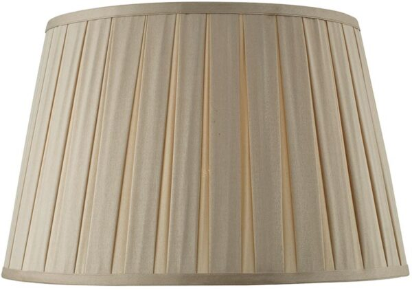 Degas Taupe 45cm Pleated Empire Large Table Lamp Shade