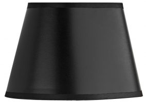 Dar Lexington Oval Black And Gold Wall Light Or Chandelier Shade