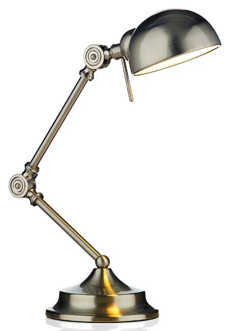 Ranger art deco style satin chrome desk lamp ran4046 for Art deco style lamp
