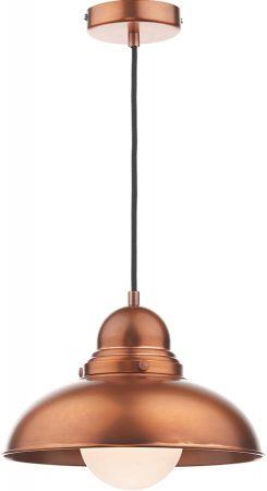 Dar Dynamo Retro Style Antique Copper Pendant Light