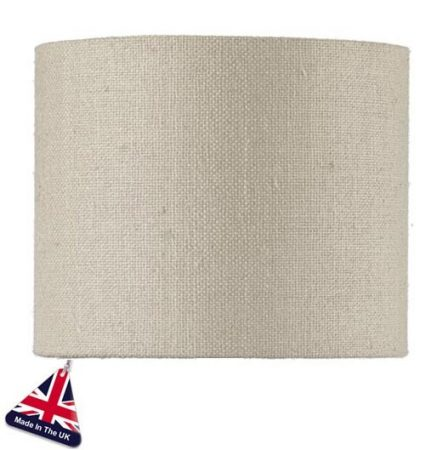 Pure Silk Silver Lined 14cm Shallow Drum Lamp Shade Colour Choice