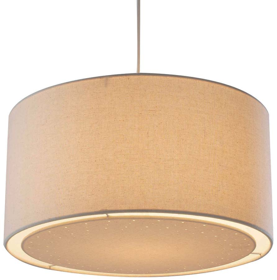 Dar edward cream fabric drum ceiling lamp shade edw6533 dar edward cream fabric drum ceiling lamp shade mozeypictures Image collections