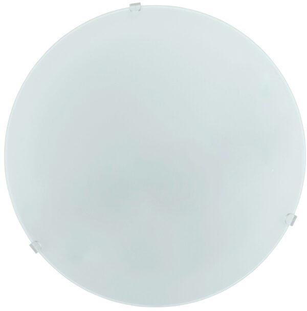 Mars Flush Satin Glass Ceiling Or Wall Light