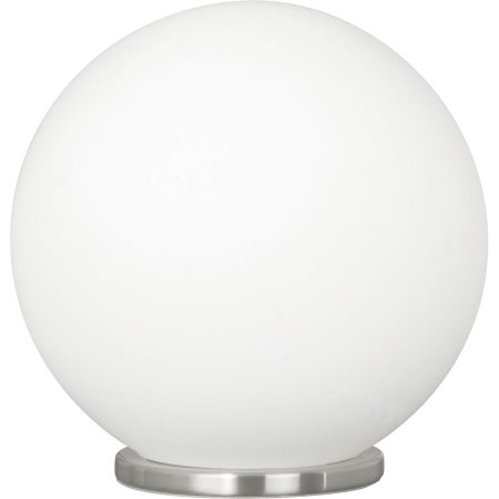 Rondo Small Opal Globe Chrome Table Lamp