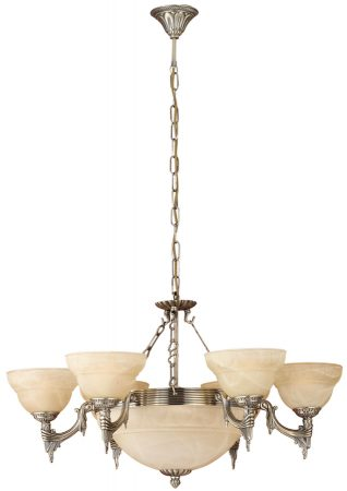 Quality Spanish Bronzed Cast Metal 9 Light Fitting