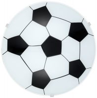 Flush Fitting Football Ceiling Light