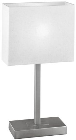 Pueblo Modern Satin Nickel Touch Table Lamp