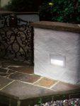 Zimba Silver Cast Aluminium Outdoor Letterbox Brick Light