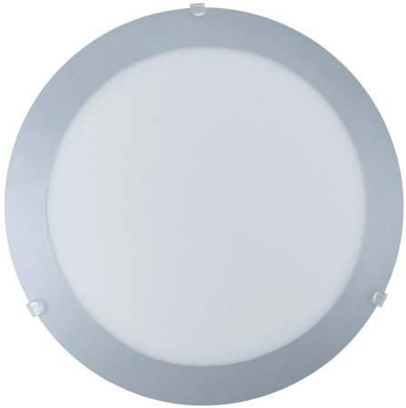 Mars Steel Ring Flush Ceiling Light or Wall Lamp