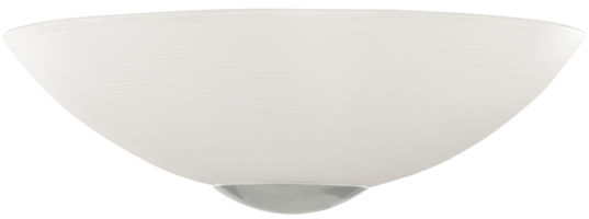 Malva Swirled Glass Flush Wall Washer Light