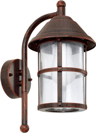 Traditional Antique Brown Wall Lantern Outdoor