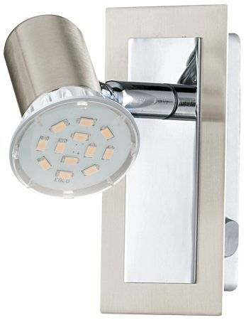 Rottelo Nickel Single Switched LED Wall Light