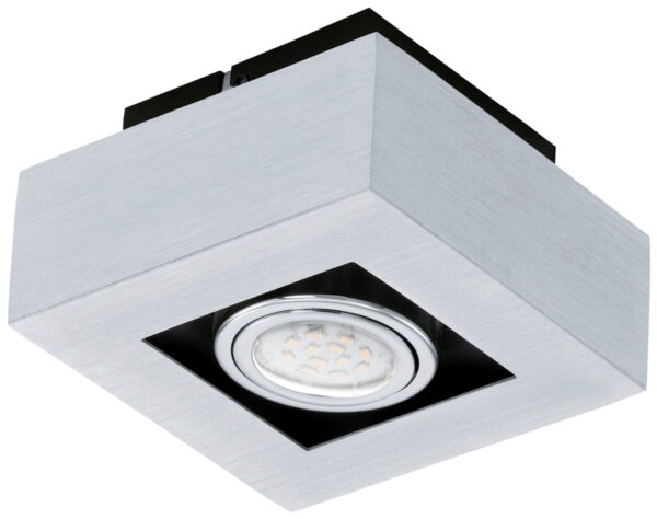 Loke Modern Aluminium Single LED Ceiling Spotlight