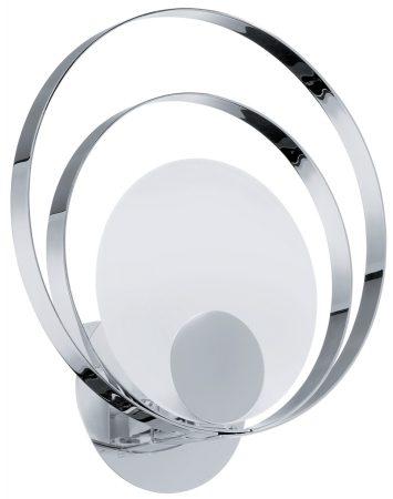 Modern Chrome Loop Wall Light