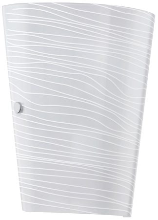 Modern White Icing Tapered Wall Washer Light