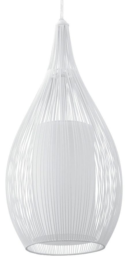 Modern White Basket Ceiling Pendant Light 92251