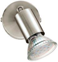Buzz Modern Satin Nickel 1 Light LED Wall Mounted Spot Light