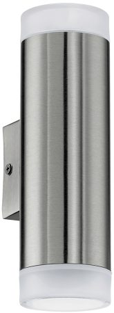 Riga Modern Stainless Steel Outdoor Wall Up & Down Spot Light IP44