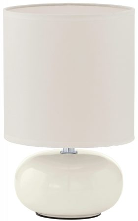 Trondio White Ceramic Table Lamp
