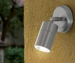 Stainless Steel Adjustable Outdoor LED Wall Spot Light