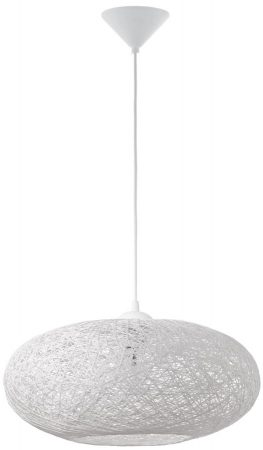 Campilo White Mesh Modern Ceiling Pendant Light