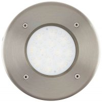 Lamedo Round Stainless Steel Outdoor LED Recessed Ground Light