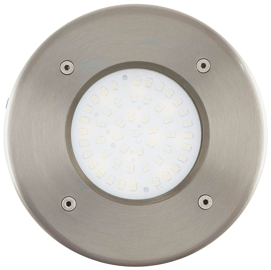 Lamedo Round Stainless Steel Outdoor Led Recessed Ground