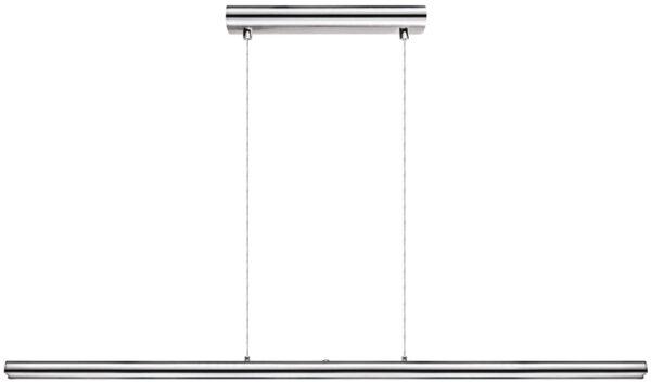 Terros Ultra Slim Chromed Aluminium LED Touch Pendant Light Bar