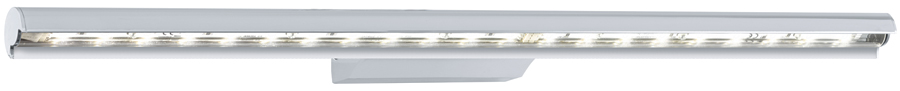 Terros Modern Chromed Aluminium LED Wall Light