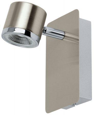 Pierino Satin Nickel LED Wall Mounted Single Spotlight