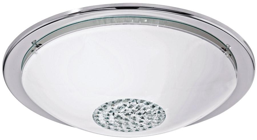 Led Ceiling Lights Company : Giolina modern crystal flush led ceiling light