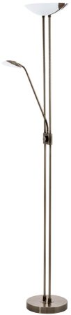 Baya Mother & Child Dimmable LED Floor Lamp Bronze Finish
