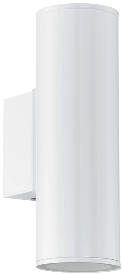 Riga White Outdoor LED Up And Down Wall Light