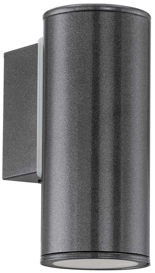 Riga Anthracite Finish LED Outdoor Wall Down Spot Light