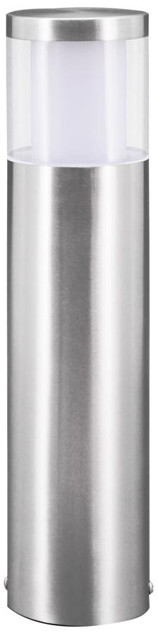 Basalgo Modern Stainless Steel LED Short Post Light