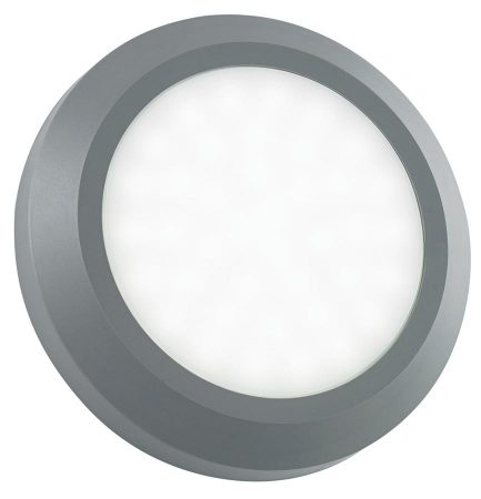 Severus Grey Rust Proof Round Outdoor Path Light 2W LED